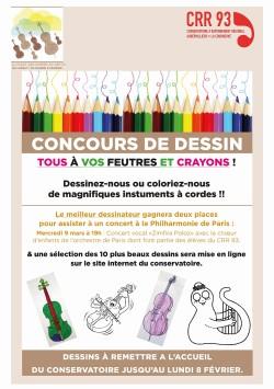 CONCOURS DESSIN